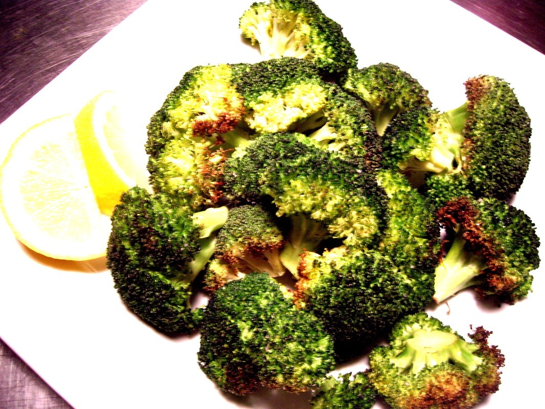 Roasted Brocoli with Lemon