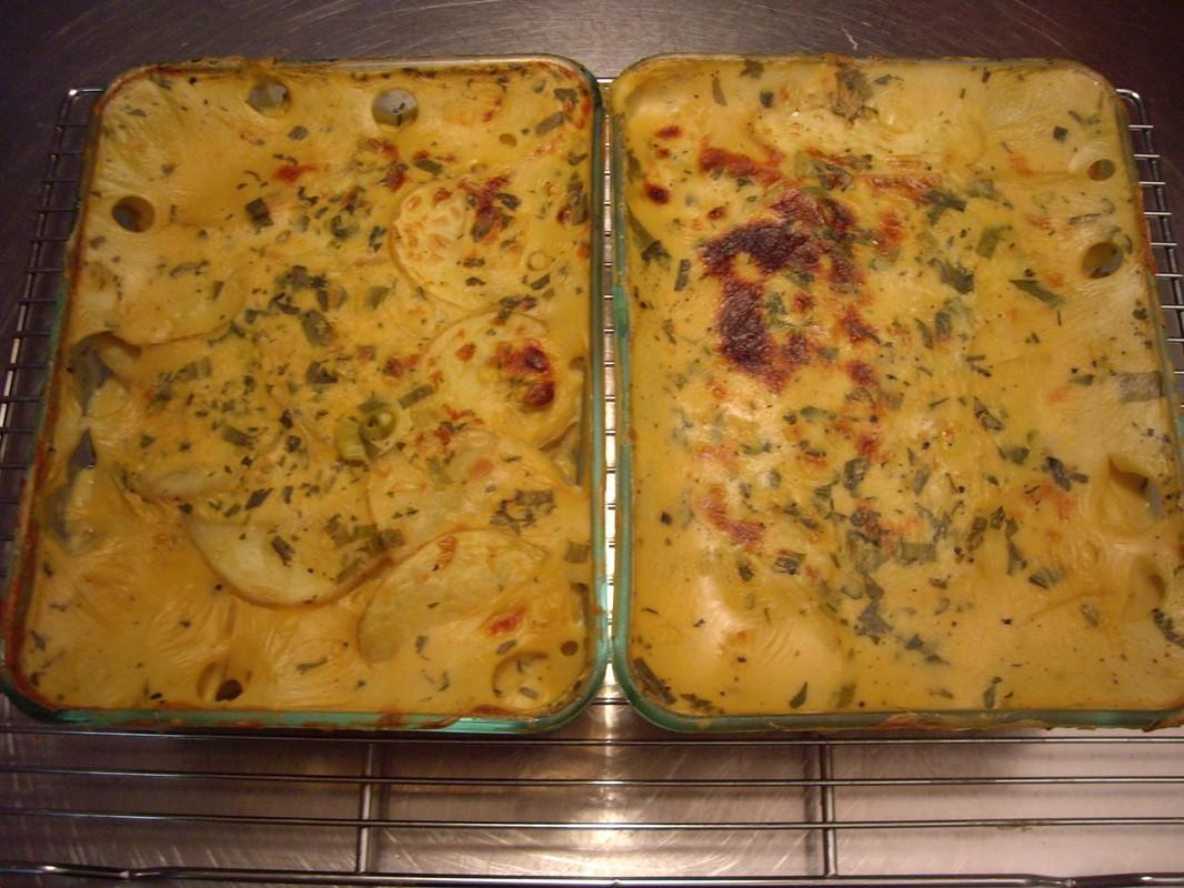 Cheezy Scalloped Potatoes