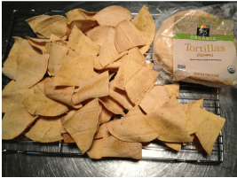 crispy corn tortilla chips