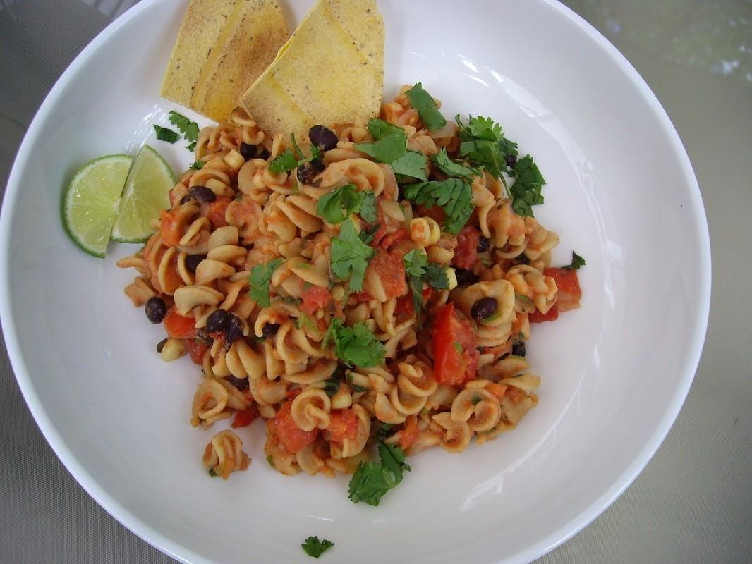 southwestern pasta toss