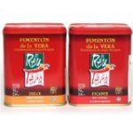 ProtectiveDiet.com Recommendation: Artisan Spanish smoked paprika, Pimenton from La Vera region. Hot and Sweet. Set of 2 tins.