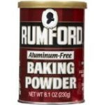 ProtectiveDiet.com Recommendation: Aluminum-Free Rumford Baking Powder Canisters -- 8.1 oz
