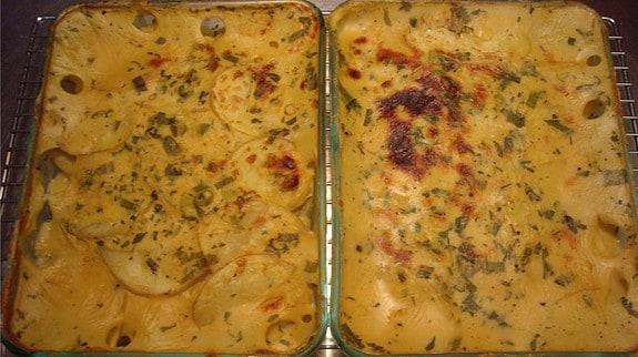 Cheezy Scalloped Potatoes - © ProtectiveDiet.com
