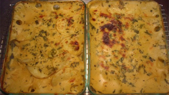 Cheezy Scalloped Potatoes - © ProtectiveDiet.com