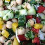 Chick Pea Cucumber Salad - © ProtectiveDiet.com