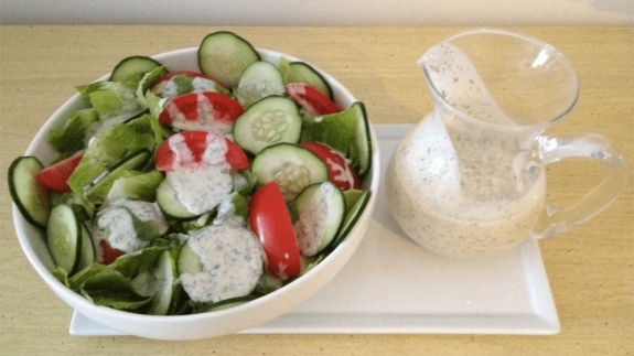 Creamy Ranch Dressing - © ProtectiveDiet.com