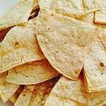 Crispy Baked Tortilla Chips