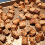 Steak House Croutons Free PD Recipe