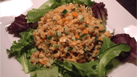 Detoxifying Red Lentil Salad - © ProtectiveDiet.com