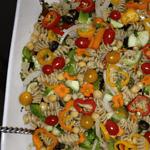 Garden Party Pasta Salad Free PD Recipe