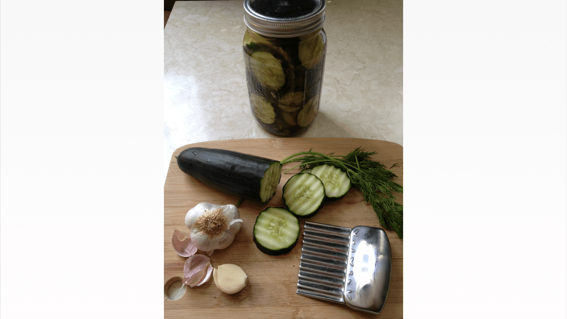 Garlicy Dill Pickles - © ProtectiveDiet.com