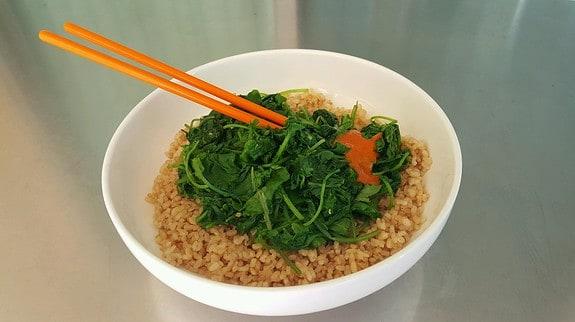 Asain Style Kale - © ProtectiveDiet.com
