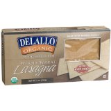 ProtectiveDiet.com Recommendation: DeLallo Organic Whole Wheat Lasagna, Oven Ready, 9-Ounce Boxes (Pack of 6)