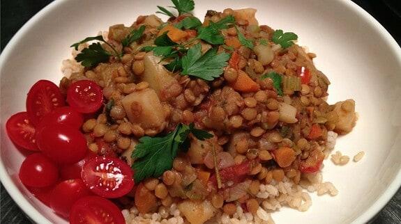 Lentil Stew - © ProtectiveDiet.com
