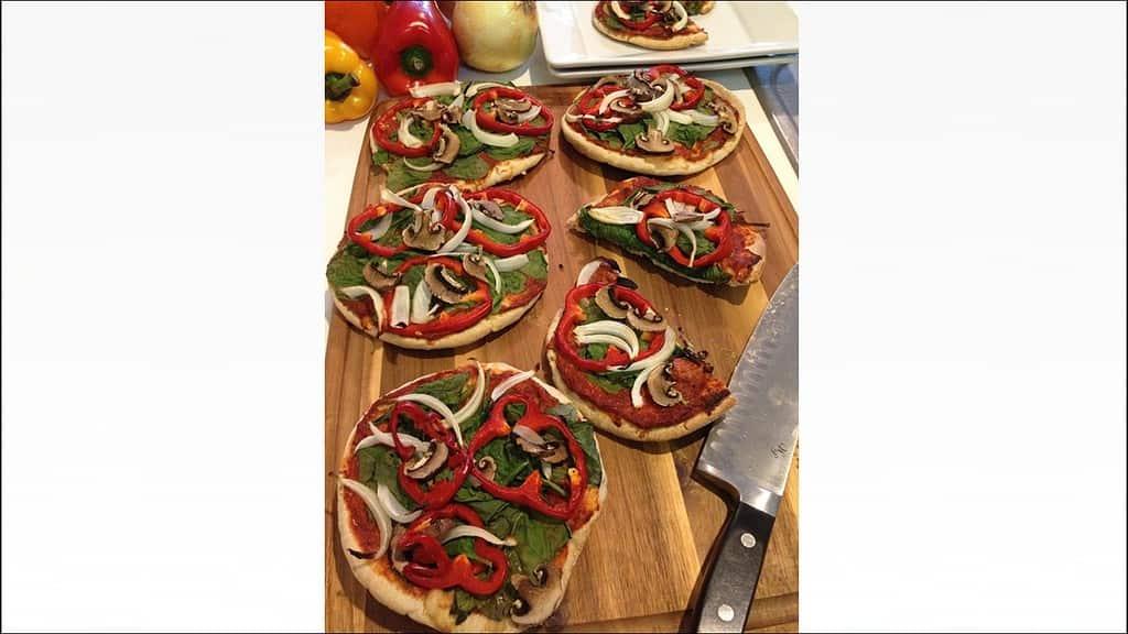 Pita Pizza Recipe & Cooking Video