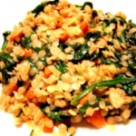 Red Lentils with Spinach and Roasted Garlic Free PD Recipe
