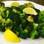 Roasted Brocoli with Lemon - © ProtectiveDiet.com