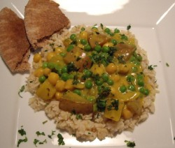 Spicy Oil Free Curry - © ProtectiveDiet.com