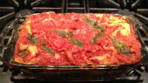 Spinach Lasagna Featured Image - © ProtectiveDiet.com