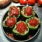 Stuffed Bell Peppers Free PD Recipe
