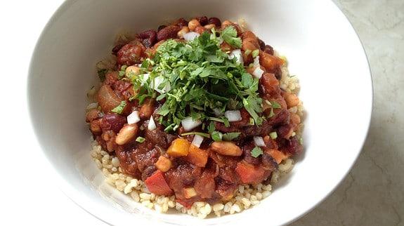 Veggie Chili - © ProtectiveDiet.com