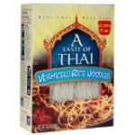 ProtectiveDiet.com Recommendation: A Taste of Thai Vermicelli Rice Noodles, 8.8-Ounce Boxes (Pack of 6)