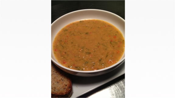 Yellow Lentil Soup