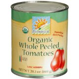 ProtectiveDiet.com Reccomendation: bionaturae Organic Whole Peeled Tomatoes, 28.2 Ounce Tins (Pack of 12)