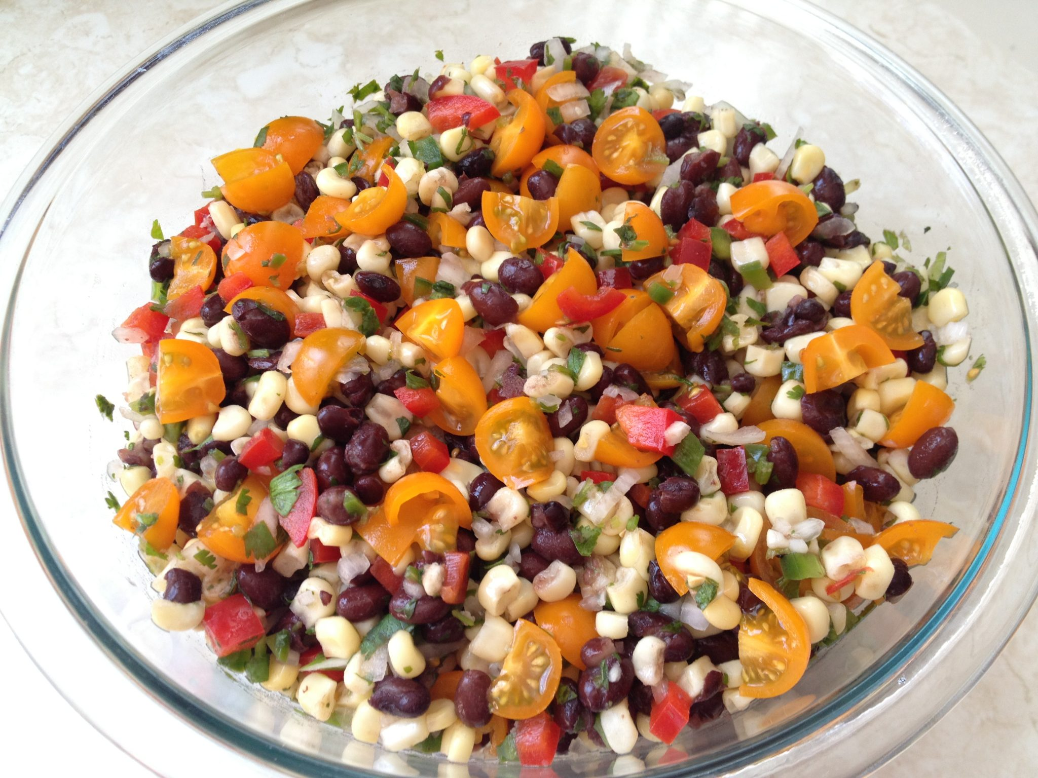 Black Bean and Corn Summer Salad Recipe - Protective Diet