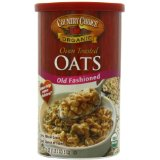 ProtectiveDiet.com Recommendation: Country Choice Organic Oven Toasted Old Fashioned Oats, 18-Ounce Canisters (Pack of 6)