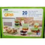 ProtectiveDiet.com Recommendation: Glasslock Snapware Tempered Glass Food Storage Containers with Lids 20 Piece Set