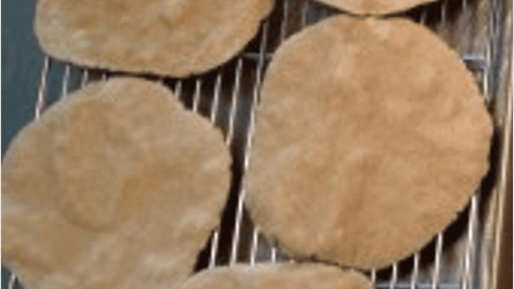 Oat Flour Flat Bread - © ProtectiveDiet.com