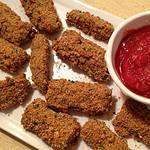 Unfried Zucchini Sticks Free PD Recipe