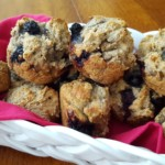 Blueberry Breakfast Muffins Free PD Recipe