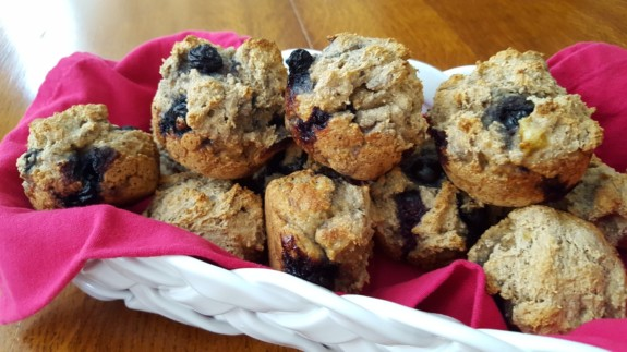 Blueberry Breakfast Muffins Featured Image - © ProtectiveDiet.com
