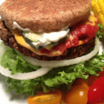 Chia Seed Black Bean Burgers Free PD Recipe