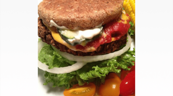Chia Seed Bean Burger - © ProtectiveDiet.com