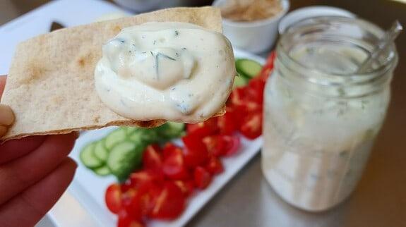 Tzatziki Sauce Featured Image - © ProtectiveDiet.com