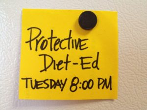 Protective Diet Ed Tues 8PM