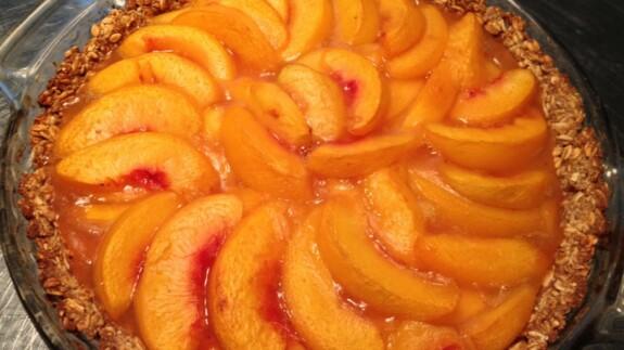 Peach Pie - © ProtectiveDiet.com
