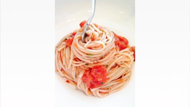 Quick Red Pasta Sauce - © ProtectiveDiet.com
