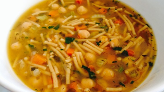 Chicken less noodle soup - © ProtectiveDiet.com