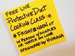 Join us Friday, April 4th at 12:00 central time for a free Protective Diet Cooki…