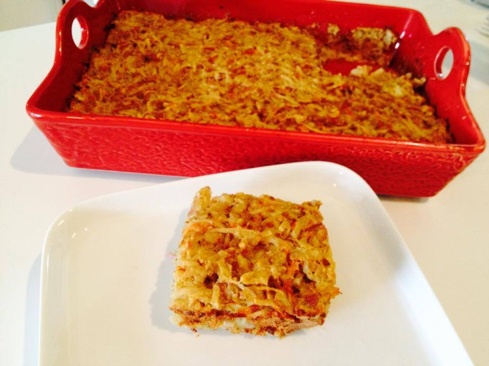 Happy Passover! Writing up a recipe for Kosher Potato Kugel that eliminates the…