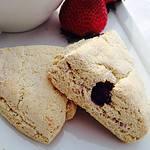 Lemon Blueberry Whole Grain Scones Premium PD Recipe