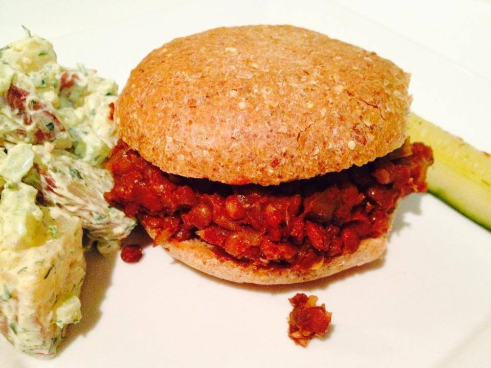 Sloppy Jerry's are a hit for the holiday with Creamy Mustard & Herb Potato Salad…