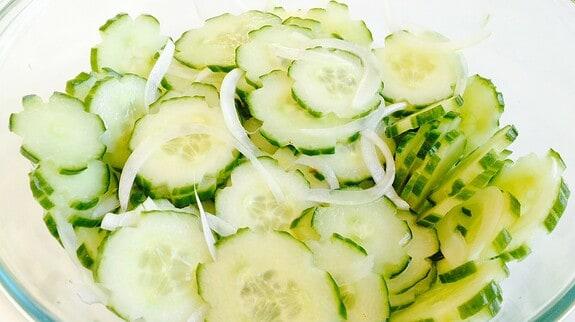 Cucumber Salad - © ProtectiveDiet.com