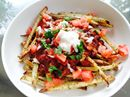 Veggie Chili Fries #ProtectiveDietStyle