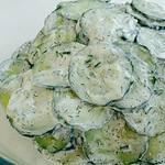Creamy Cucumber Salad Premium PD Recipe