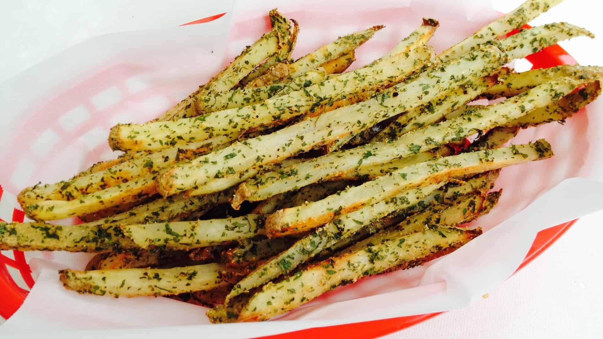 Crispy Herb Fries - © ProtectiveDiet.com